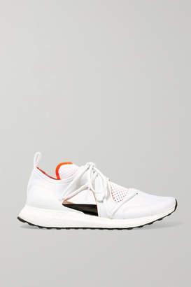 adidas by Stella McCartney Ultraboost T Cutout Neoprene And Primeknit Sneakers - White
