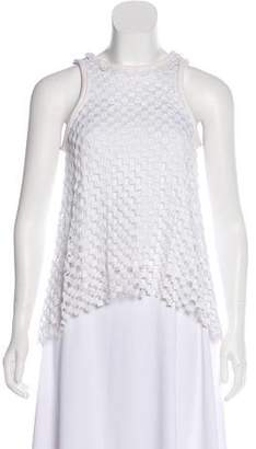 Diane von Furstenberg Scoop Neck Sleeveless Top