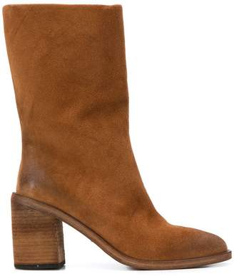 Marsèll block heel boot