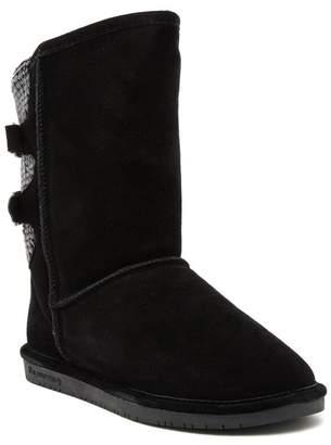 BearPaw Rue Genuine Sheepskin Lined Boot - Wide Width (Women)