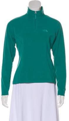 The North Face Mock Neck Zip-Up Sweatshirt