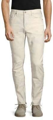 Hudson Vaughn Skinny Ankle-Zip Jeans