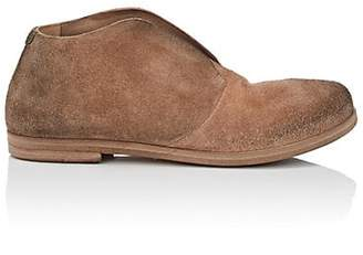Marsèll Women's Distressed Suede Loafers - Beige, Tan