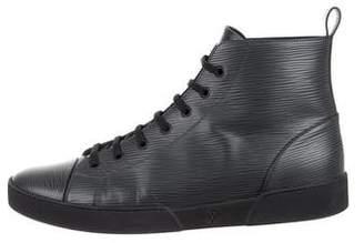 Louis Vuitton 2016 Epi High-Top Sneakers