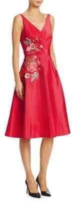 Ahluwalia Borgeois Silk Floral Dress