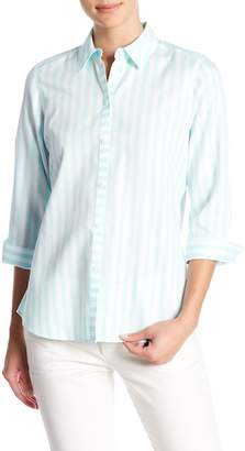 Foxcroft Ava Striped Shirt