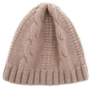 Tory Burch Reva Cable Knit Beanie