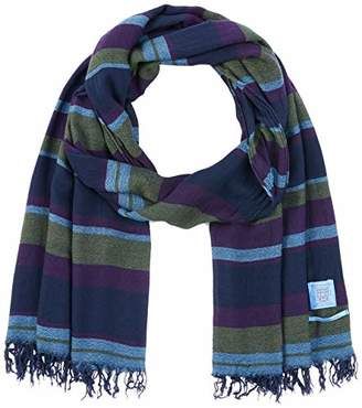 Scotch & Soda Men's Lightweight Woven Scarf In Cashmere Blend Quality Scarf,(Manufacturer size: OS)