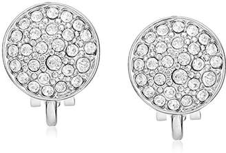 Laundry by Shelli Segal Domed Pave Clip-On Earrings