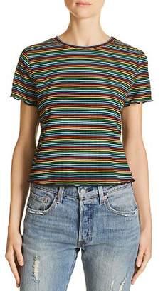 Sadie & Sage Rainbow Stripe Tee