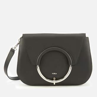 Furla Women's Margherita Small Cross Body Bag - Black