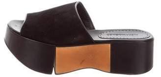 Alexa Wagner Queen Bee Flatform Slide Sandals