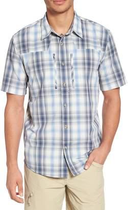 Patagonia M's Sun Plaid Stretch Hybrid Shirt