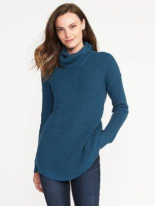 Textured Turtleneck Tunic for Women $42.99 thestylecure.com