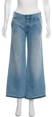Chloé Mid-Rise Wide-Leg Jean
