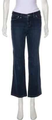 MICHAEL Michael Kors Low-Rise Wide-Leg Jeans