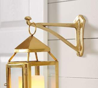 Pottery Barn Lantern Hook- Brass