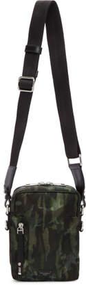 Dolce & Gabbana Green Camo Crossbody Bag