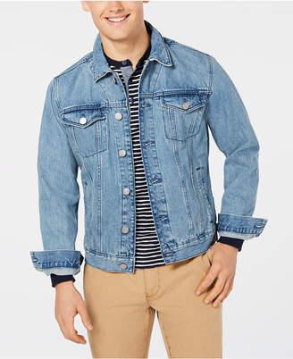 Tommy Hilfiger Men's Denim Logo Jacket