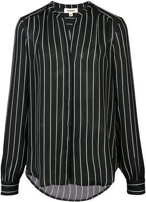 L'Agence striped shirt