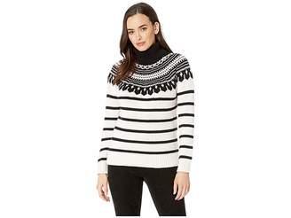 Lauren Ralph Lauren Cotton-Blend Turtleneck Sweater