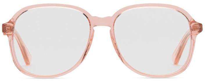 861e6c56e10 Gucci Round-frame acetate glasses - ShopStyle Sunglasses