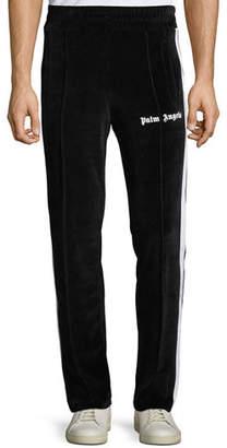 Palm Angels Men's Chenille Track Pants