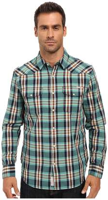 Lucky Brand Santa Fe Western Shirt Men's Clothing