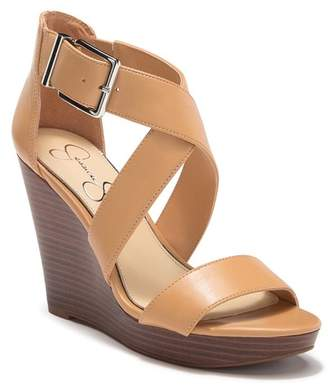 53872ce57c8f Jessica Simpson Platform Wedge Women s Sandals - ShopStyle