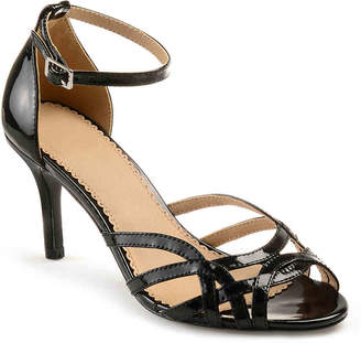 ee0df3ada6ab1b Journee Collection Black Faux Leather Women s Sandals - ShopStyle