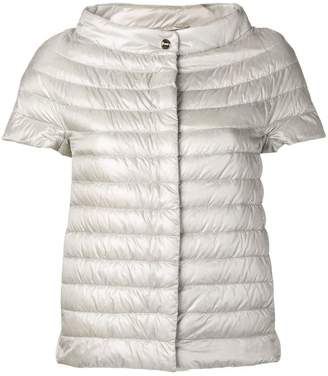 Herno shortsleeved padded jacket