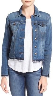 Women's Joe's 'Collector's Edition - Stevie' Button Front Denim Jacket $275 thestylecure.com
