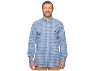 Polo Ralph Lauren Big Tall Poplin Long Sleeve Sport Shirt Men's Clothing