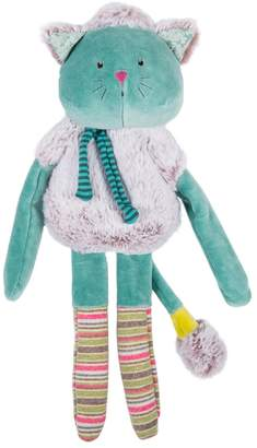 Moulin Roty Les Pachats Blue Cat Comforter