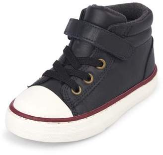 Children's Place The Toddler Boys' Mid Rise Casual Sneaker