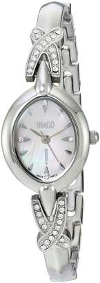 Jivago Women's JV3612 Casual Via Watch, Mother of Pearl