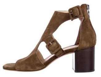 Rag & Bone Suede Cutout Sandals