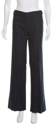 Barbara Bui Mid-Rise Wide-Leg Jeans