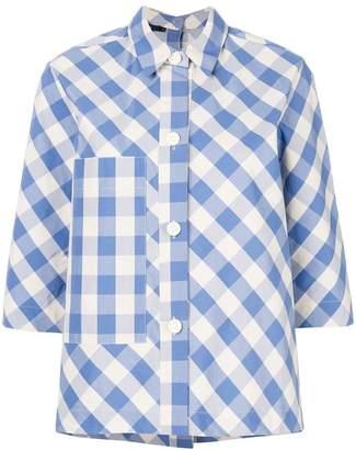 Sofie D'hoore gingham-print shirt