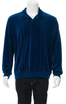 Supreme 2017 Velour Polo Sweater