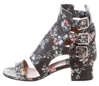Laurence Dacade Leather Floral Sandals