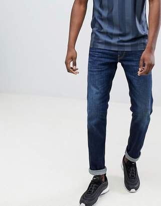 Replay Anbass slim stretch jeans in dark wash