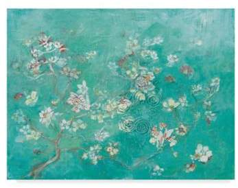Trademark Fine Art Kellie Day Butter Blossoms Flowers 14-Inch x 19-Inch Wall Art