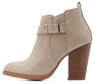 Belted Ankle Booties $40.99 thestylecure.com
