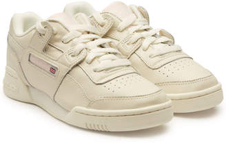 Reebok Workout Lo Plus Leather Sneakers 0f7191540