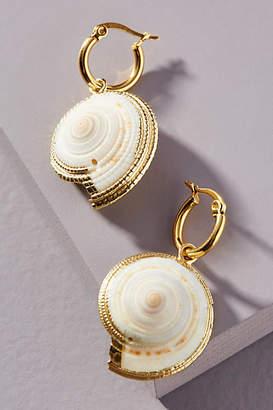 Amber Sceats Eli Shell Drop Earrings