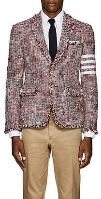 Thom Browne Men's Block-Striped Tweed Three-Button Sportcoat