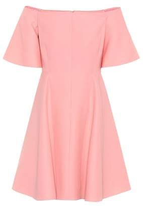 Valentino Wool and silk crêpe minidress