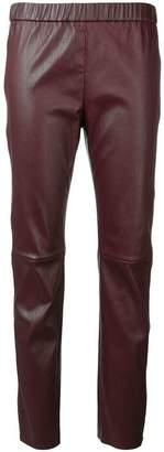 Sonia Rykiel leather leggings
