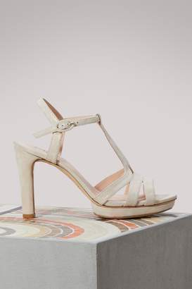 Repetto Bikini sandals with heels
